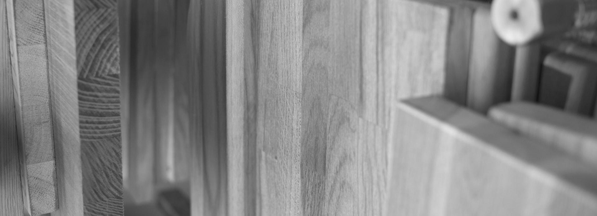 Blaty drewniane baner